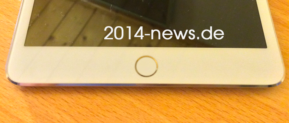 Touch ID w iPadzie