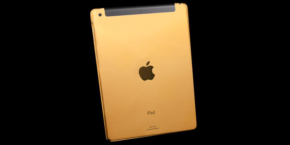 Złoty iPad Air