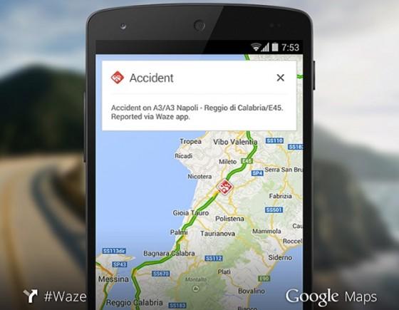 Mapy Google z Waze