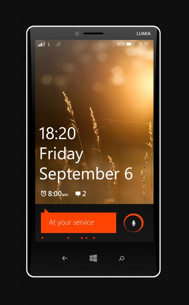 Tablet Nokia Lumia 1820