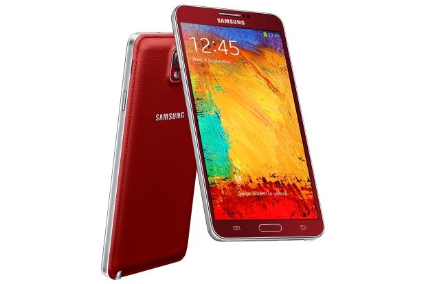 Samsung Galaxy Note 3 - red