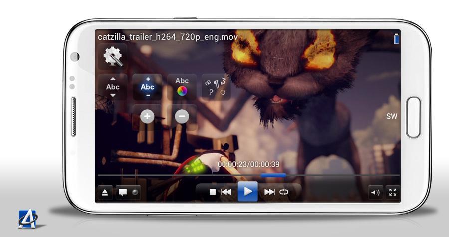 Allplayer na Androida