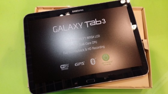 Samsung Galaxy Tab 3 - Midnight Black