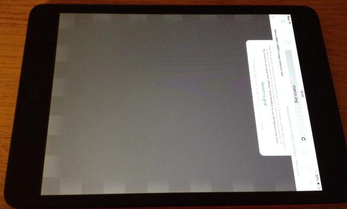 iPad mini z ekranem Retina - problemy