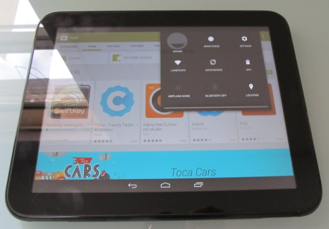 TouchPad z Androidem 4.4