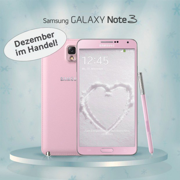 Samsung Galaxy Note 3 Blush Pink