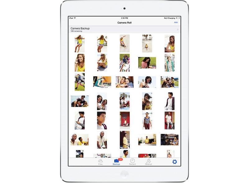 SkyDrive na iPada