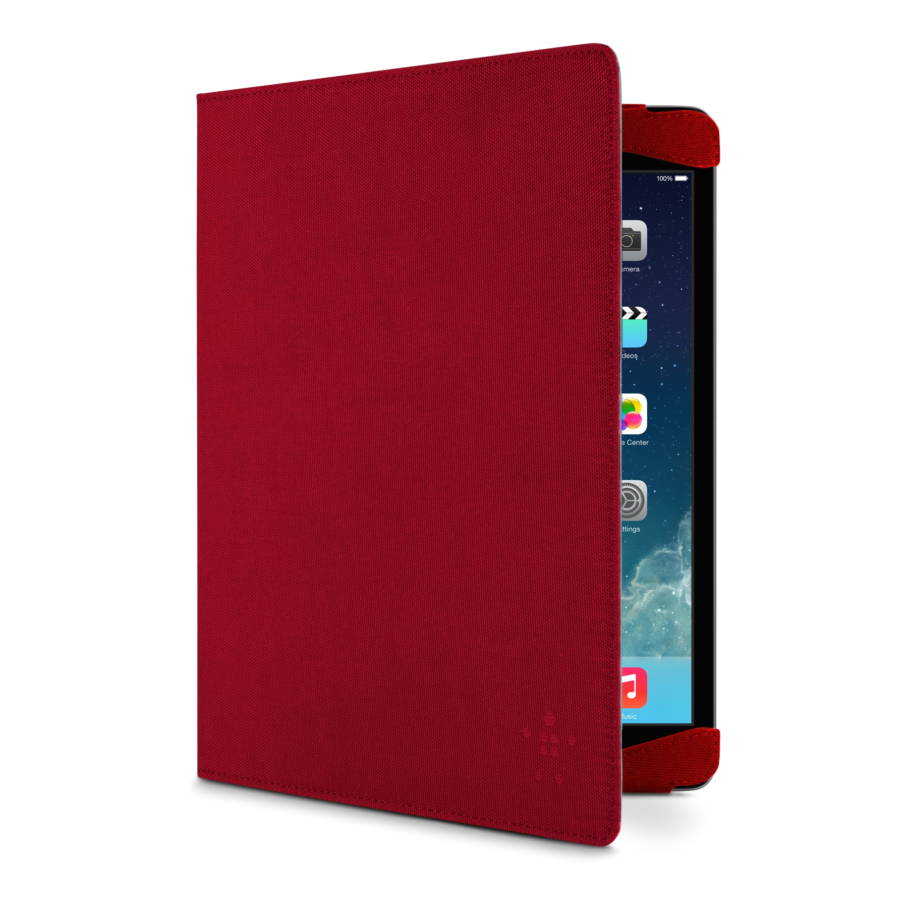 Classic Strap Cover for iPad Air_F7N053 - Red
