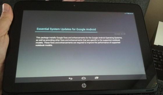 HP SlateBook X2 - Android 4.3