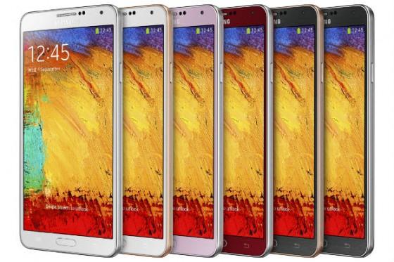 Samsung Galaxy Note 3 - kolory