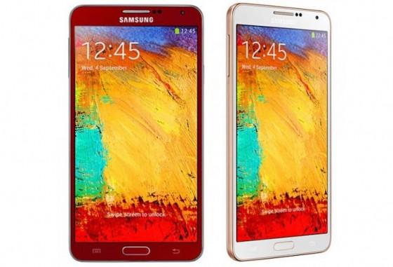 Galaxy Note 3 - nowe kolory