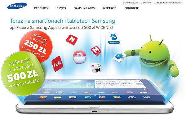 Samsung - Aplikacja w cenie