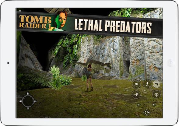 Tomb Raider na iOS