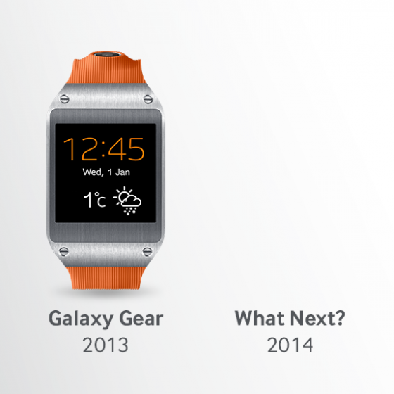 Galaxy Gear teaser
