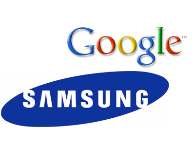 Google i Samsung - logo