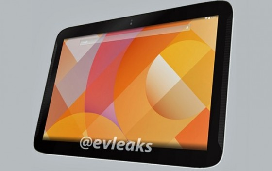 Google Nexus 10 render