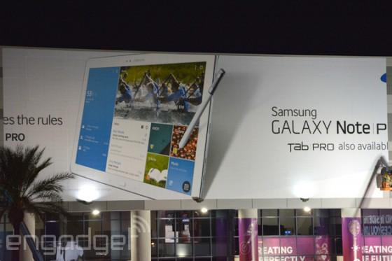 Galaxy Note Pro i Tab Pro