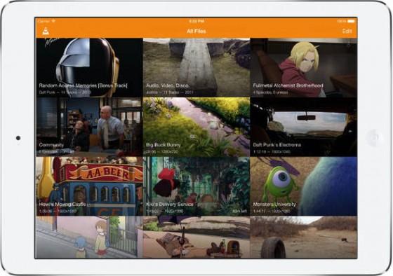 VLC na iOS 7