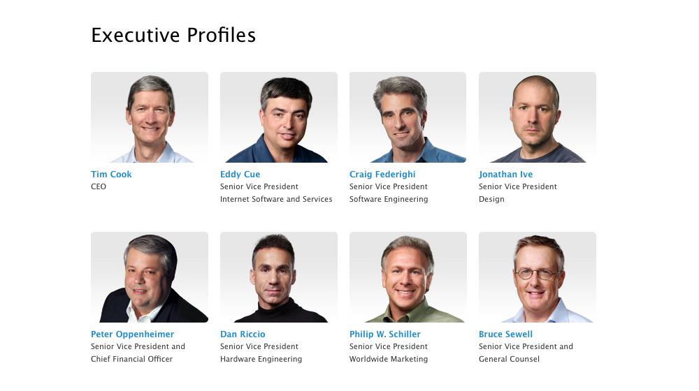 Apple Leadership