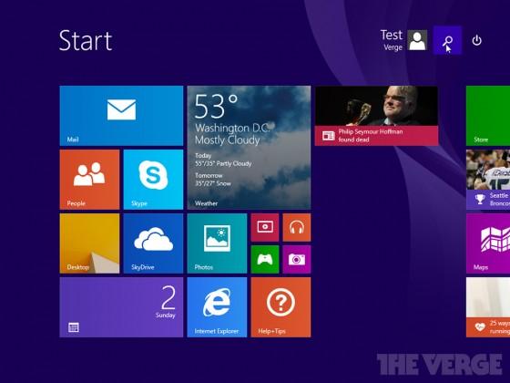 Windows 8.1 Update 1 - wyciek