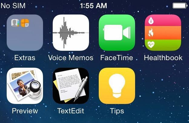 Screen z iOS 8?