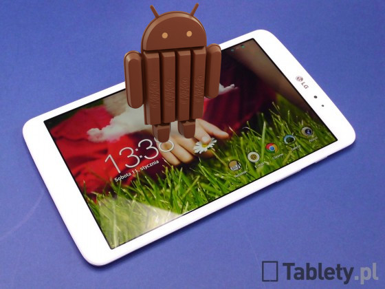LG G Pad 8.3 z Androidem Kit Kat
