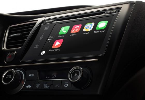 Apple CarPlay okulary AR Apple Car
