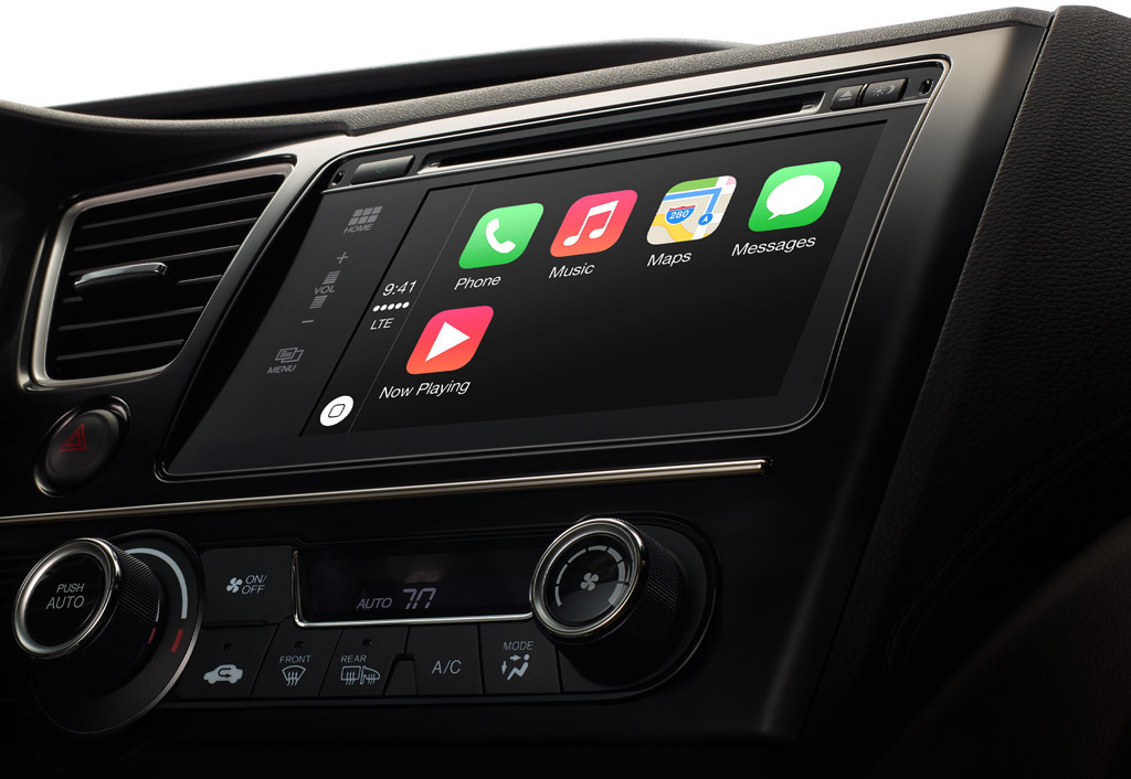 Apple CarPlay okulary AR Apple Car