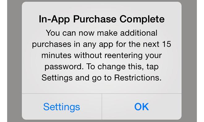 Mikropłatności w iOS 7.1