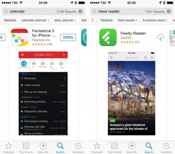 Propozycje w App Store