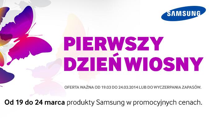 Pierwszy dzień wiosny z Samsungiem