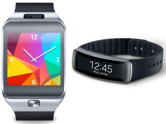Samsung Gear 2 i Gear Fit