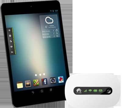 Kiano Slim Tab z routerem Huawei