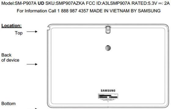 Samsung Galaxy NotePRO 12.2 (SM-P907A)