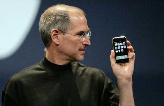Steve Jobs - pierwszy iPhone