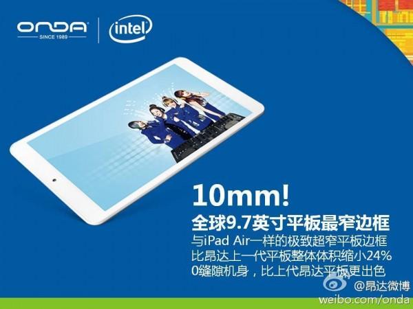 Tablet Onda V975i