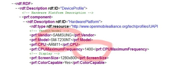 Samsung SM-T230NT