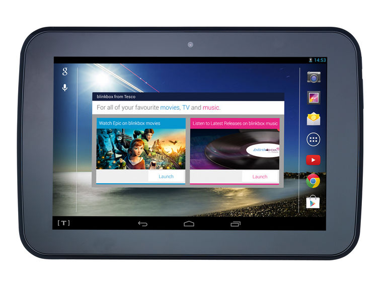 Tablet z Tesco - Hudl