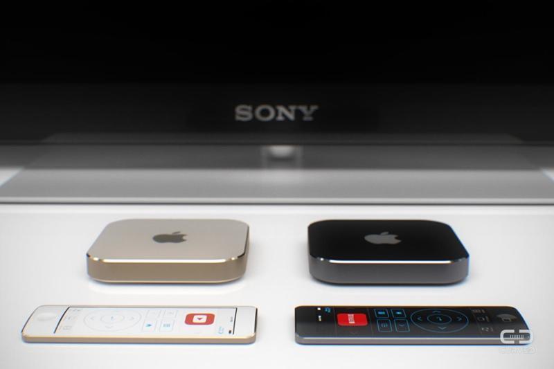Apple TV - koncept