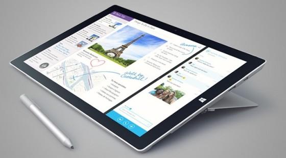 Surface Pro 3 z Surface Pen