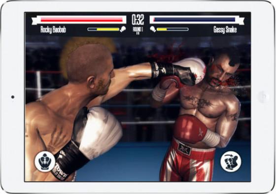 Real Boxing na iOS