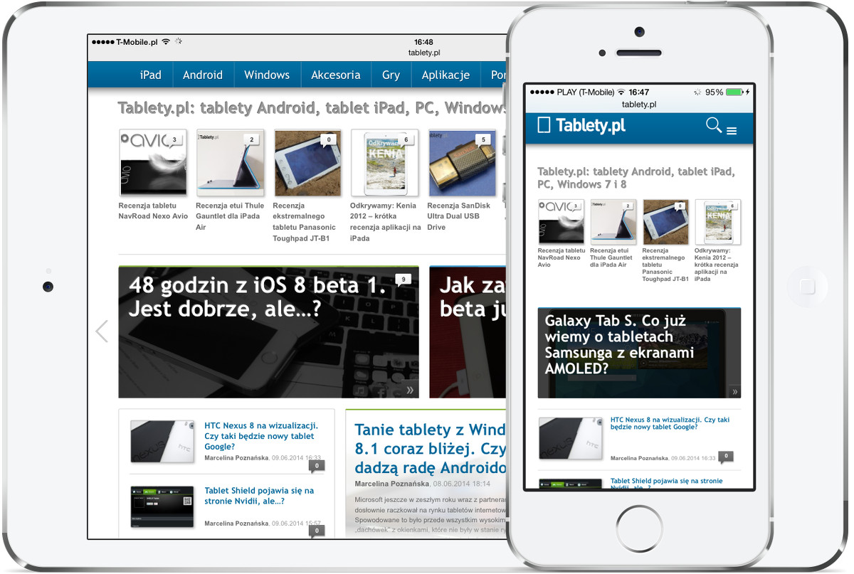 Tablety.pl - mobile
