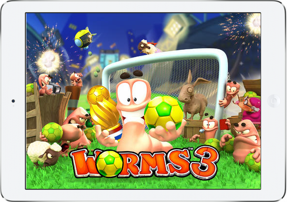 Gra Worms 3