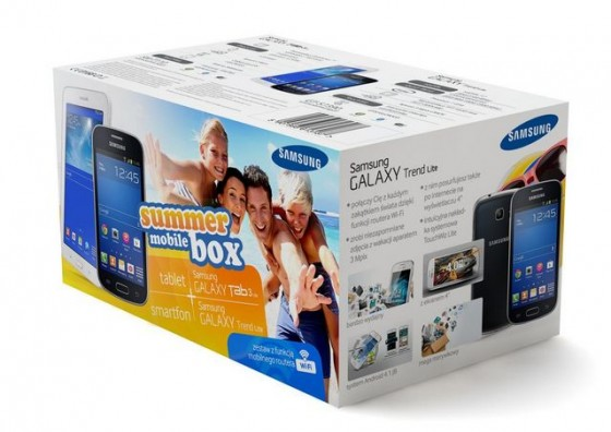 Samsung summer mobile box