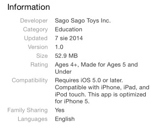 Family Sharing w App Store