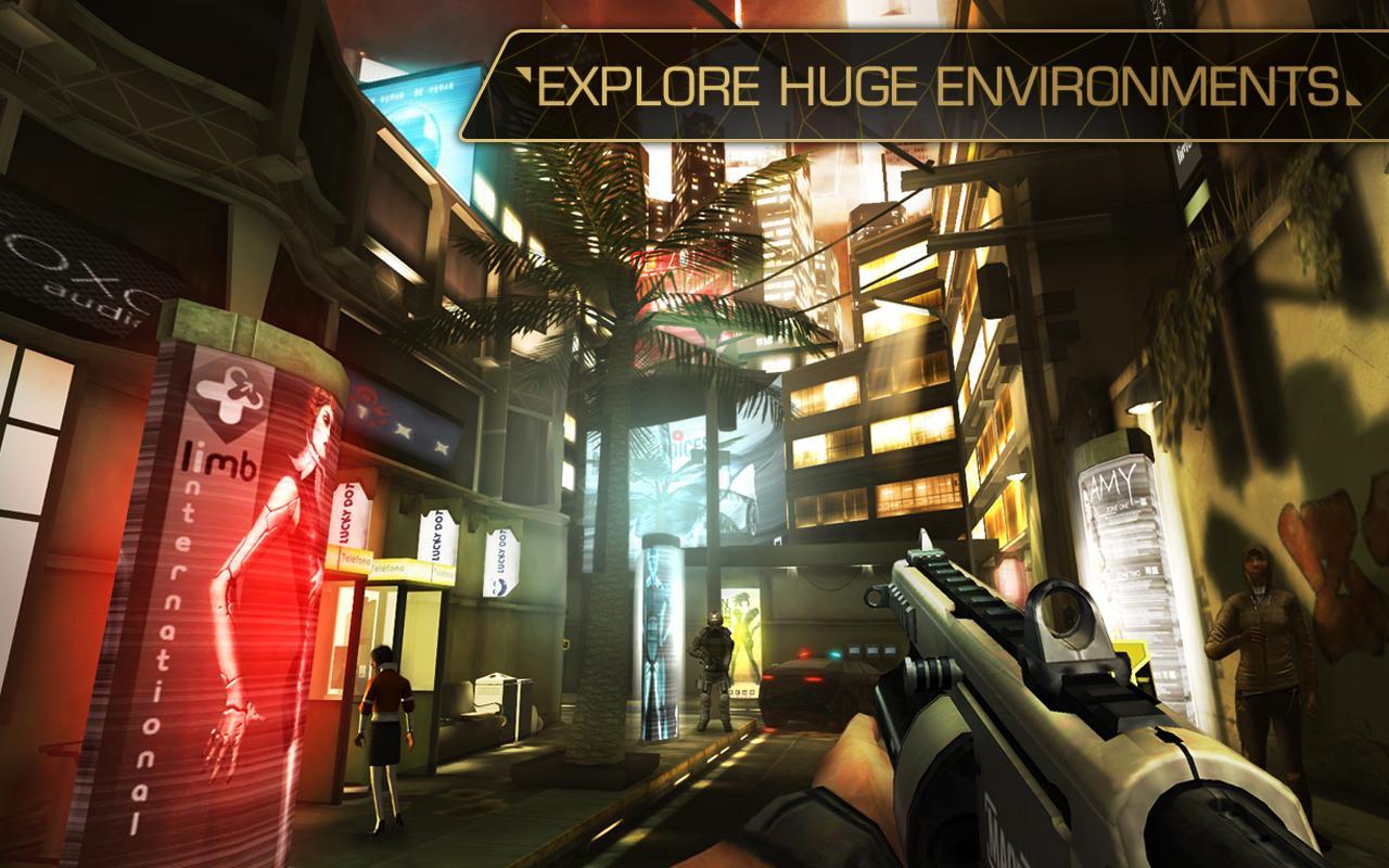Gra Deus Ex: The Fall