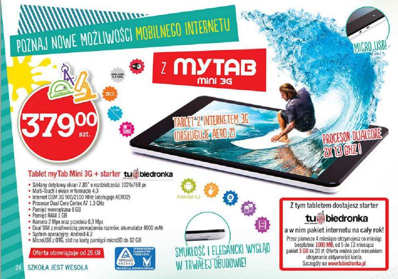 myTab Mini 3G