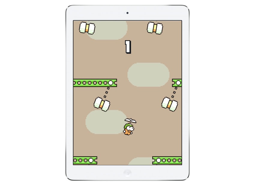 Gra Swing Copters