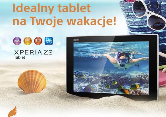 Sony Xperia Z2 Tablet - wakacje