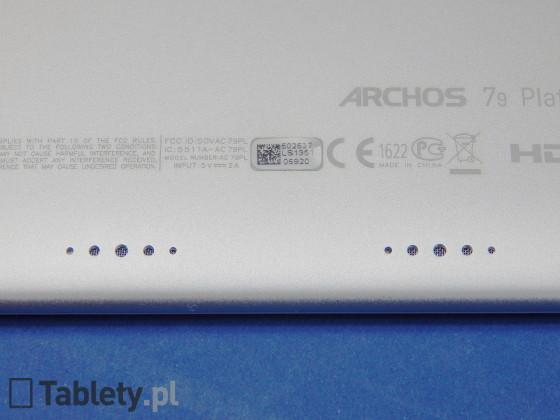 ARCHOS 79 Platinum 08